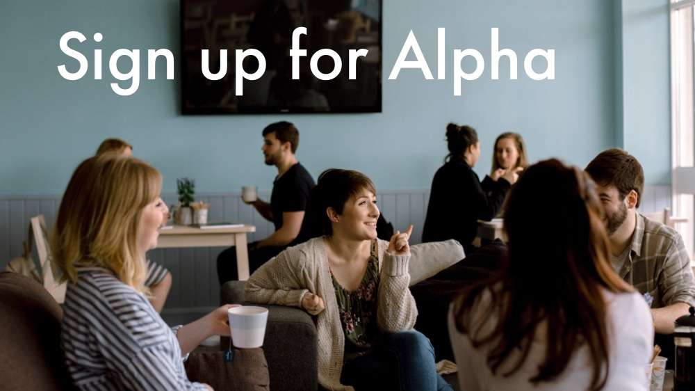 Alpha sign up